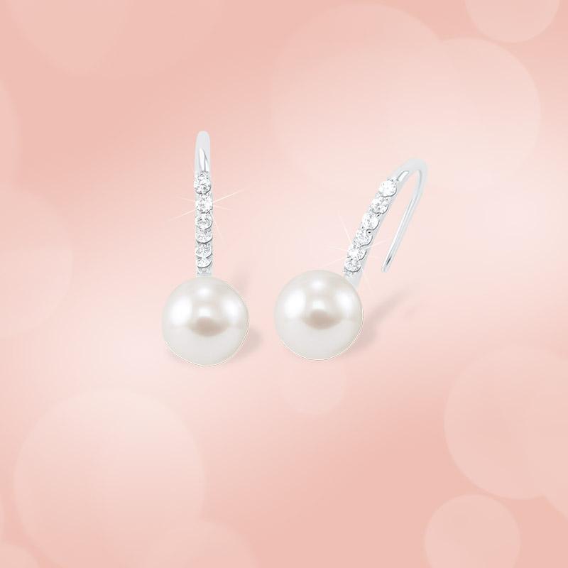 Schimmernde Perlen